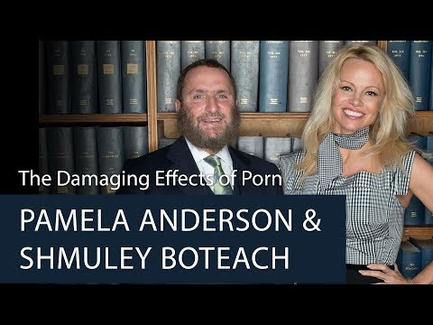 Pamela Anderson & Shmuley Boteach | The Damaging Effects of