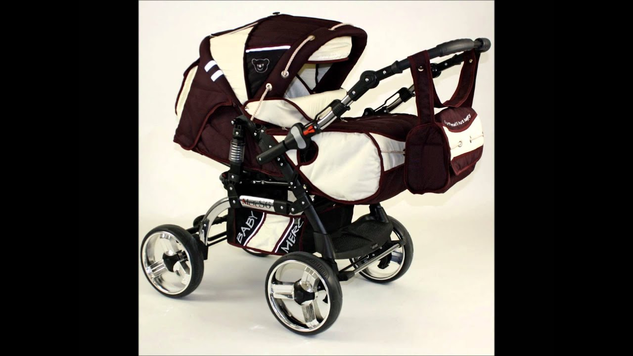 S6 pram pushchair exclusive designs with 41 colours im for Mercedes benz baby pram