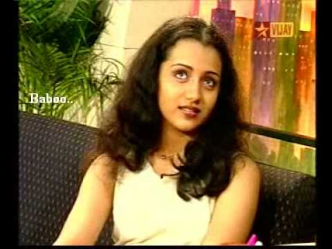 Rare video of trisha