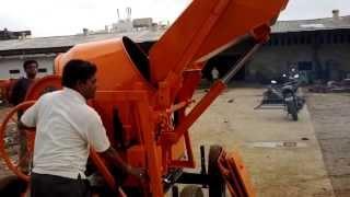 Concrete Mixer - Safari 1000 Hydraulic