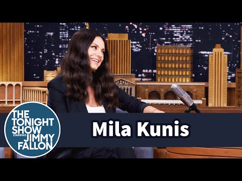 Mila Kunis' Kid Can Tell a Beer Belly from a Baby Belly