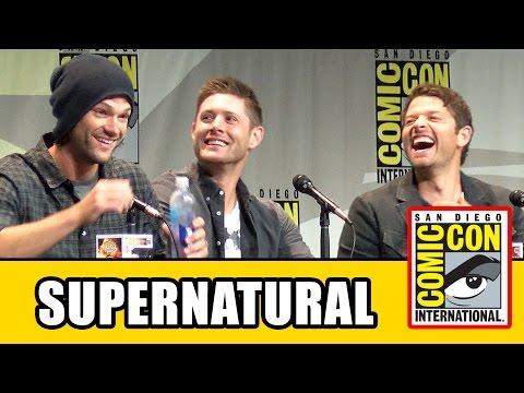 Supernatural Comic Con Panel Jensen Ackles Jared Padalecki Misha Collins