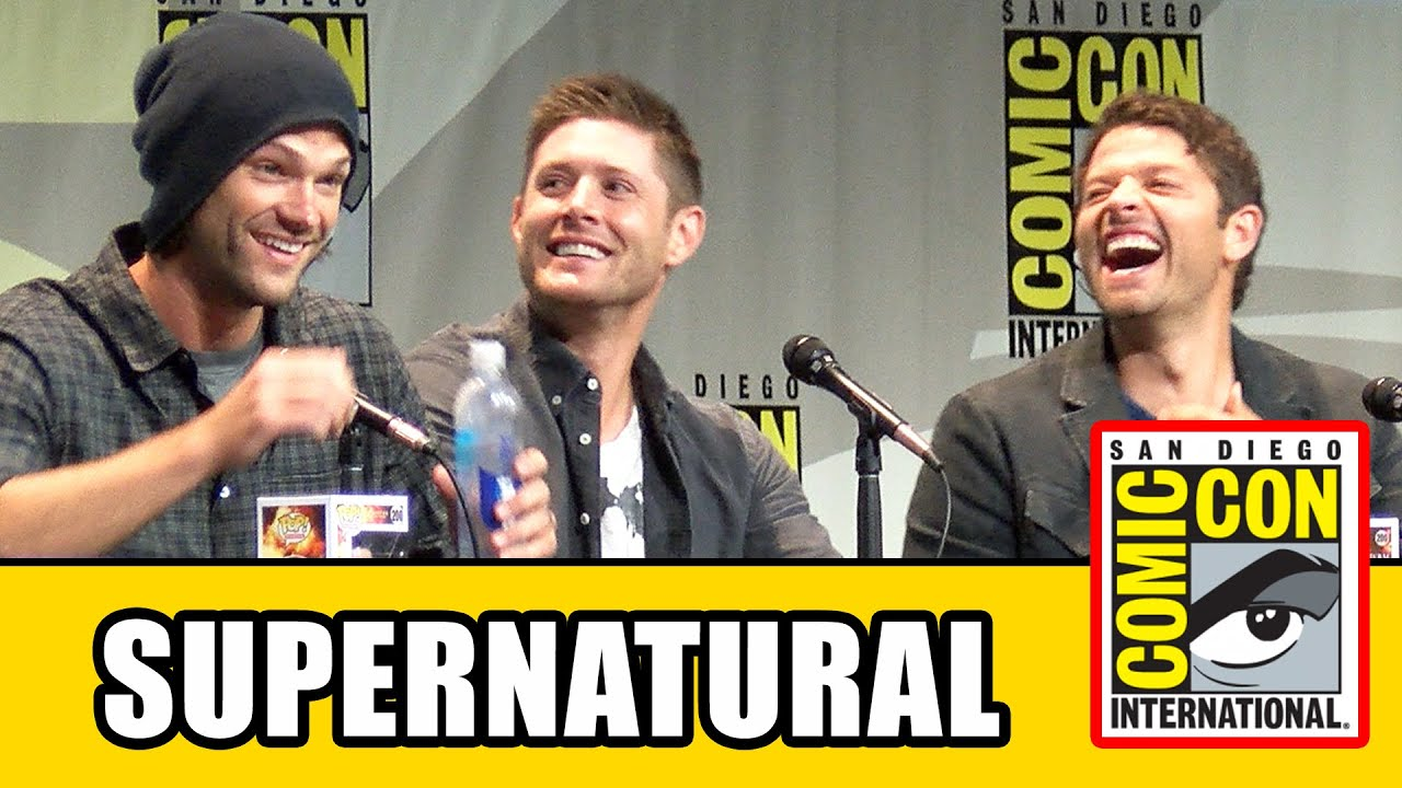 Supernatural Fan Comics Supernatural Comic Con Panel