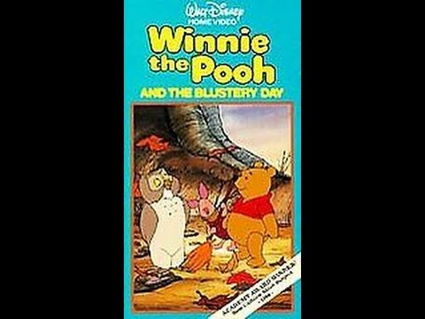 Opening To Winnie The Pooh And The Blustery Day 1986 Vhs video