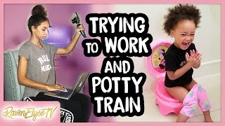 MY DAILY ROUTINE | Super Busy Day + Potty Training