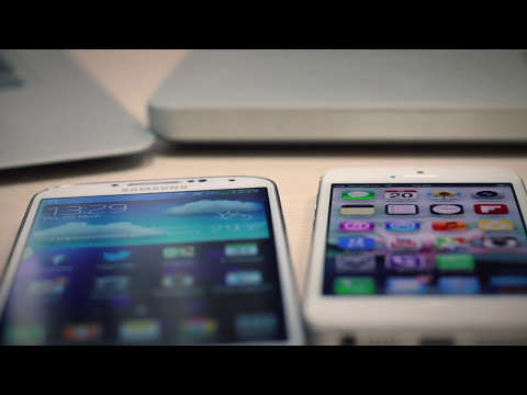 Samsung Galaxy S4 vs. iPhone 5: Сравнительный Обзор Двух Флагманов