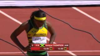 IAAF World Junior Championships 2014 - Women's 100 Metres Hurdles Preliminaries Heat 1