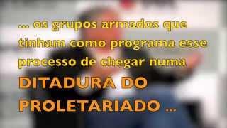 BOLSONARO: A ESQUERDA CONFESSA QUERER IMPLANTAR A DITADURA DO PROLETARIADO NO BRASIL