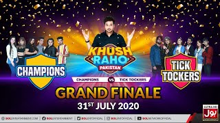 Game Show | Khush Raho Pakistan Champions Vs Tick Tockers Grand Finale  | 31st July 2020