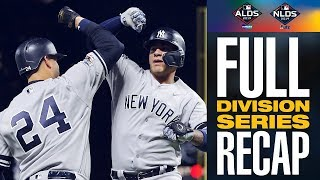 Full 2019 MLB Division Series Recap | MLB Highlights
