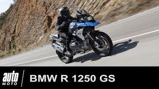 BMW R 1250 GS ESSAI du trail de luxe allemand Auto-Moto.com