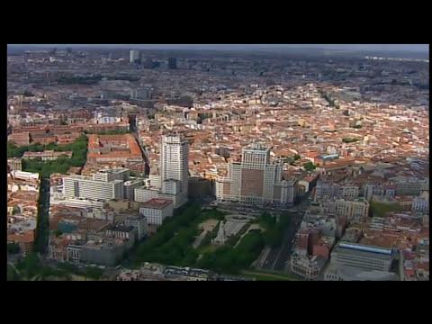Madrid desde el aire: edificios con historias