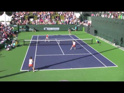Errani / Vinci [1] vs. Hsieh / Peng - 2013 BNP Paribas Open