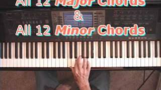 Major Piano Chords & Minor Piano Chords: Learn All 24 Quickly