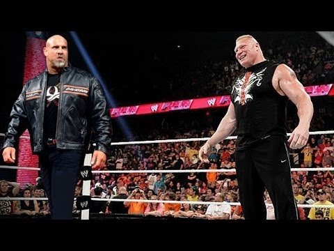 Goldberg vs Ryback vs Brock Lesnar Extreme Rules Match (WWE Game)