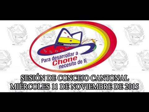 Sesión de Concejo - 11 NOV 2015