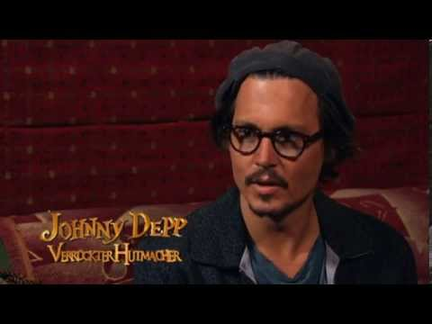Johnny Depp in London at press conference of Sweeney Todd