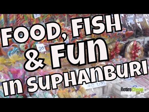 JC's Road Trip pt 1– Suphanburi TH – Food, Fish and Fun!