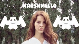 Download Lagu Lana Del Rey x Marshmello ft. Khalid - Summertime Silence [Music Video Mashup] Gratis STAFABAND