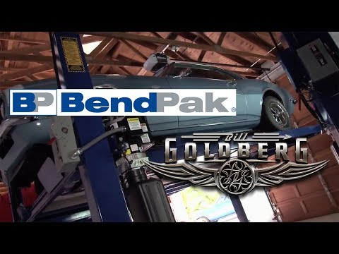 Pro-Wrestler Bill Goldberg on BendPak Car Lifts and Automotive Shop Equipment