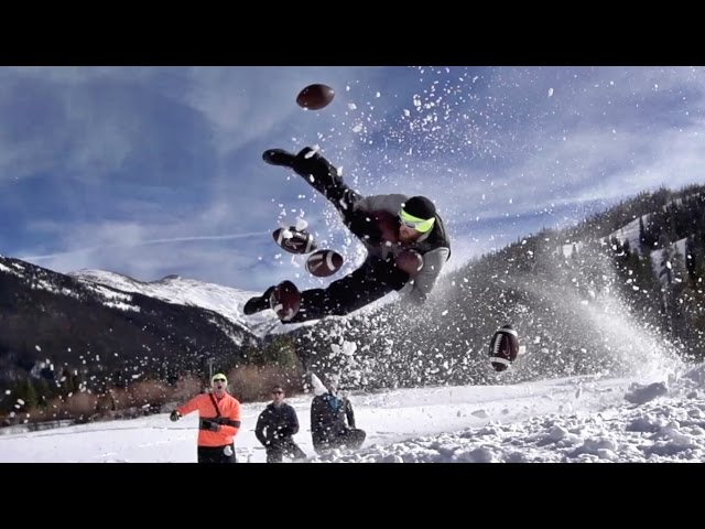 Snow Sports Battle  Dude Perfect