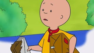 Caillou English Full Episodes | Muddy Postman Caillou | Cartoon Movie | Cartoons for Kids