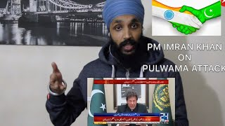PM Imran Khan On Pulwama Attack | Indian Reaction