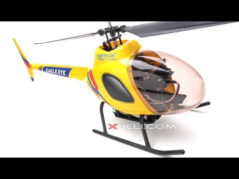2.4Ghz Art-Tech Eagle Eye 4CH RC Co-Axial Helicopter