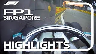 2019 Singapore Grand Prix: FP1 Highlights