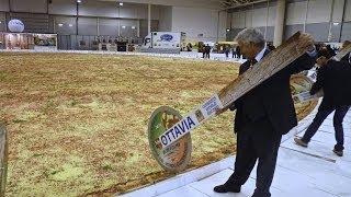 The Biggest Pizza In The World / Ottavia