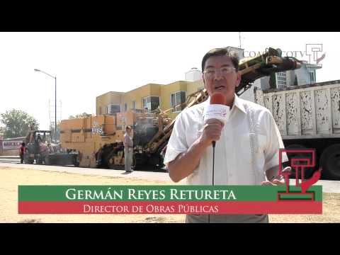 Coacalco TV - Repavimentación de Av. Mexiquense