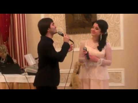 Кристина Хугаева и Азамат Сидаков   На Уарзты зараг