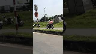 Tai nạn giao thông kinh hoàng ở bình minh Vĩnh Long
