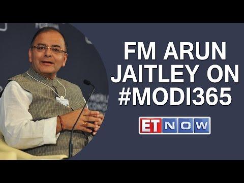 #Modi365 The FM Interview – Arun Jaitley | FULL SHOW