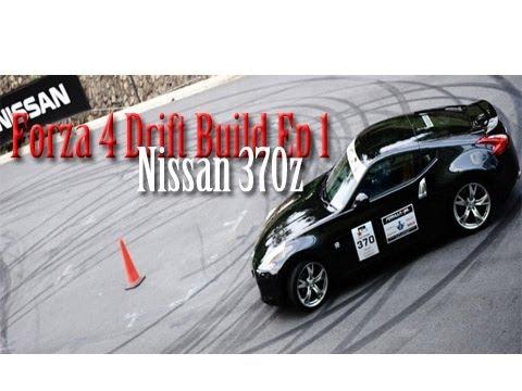 forza horizon nissan 370z drift build + new let's play