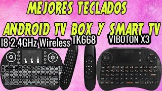 TOP 3 MEJORES TECLADOS INALAMBRICOS PARA ANDROID TV BOX | SMART TV | XBOX | PLAY 4