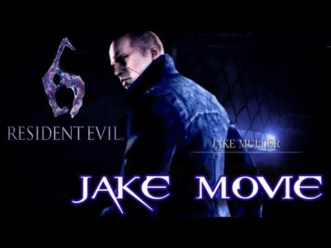 Resident Evil 6 'All Jake Cutscenes Movie' TRUE-HD QUALITY