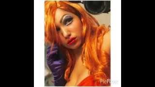 Jessica Rabbit Halloween Look