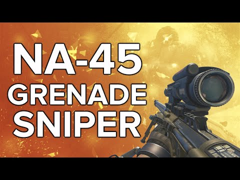 Advanced Warfare In Depth: NA-45 Grenade Sniper Review (& Variants Guide)