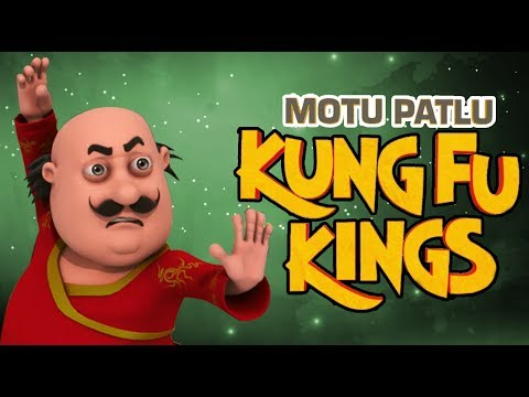 Funny Cartoon Movies for kids | Cartoons In Hindi | Motu Patlu - Kunf Fu Kings thumbnail