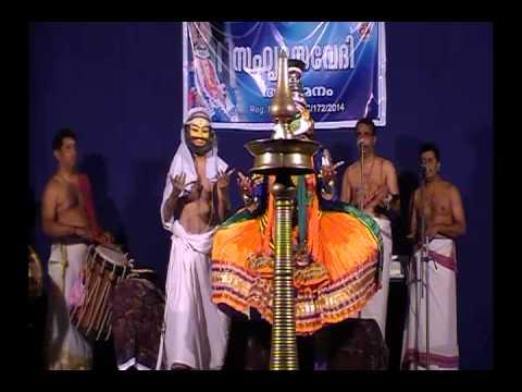 Kathakali -kuchelavritham- Sree Krishnan- Gopi Ashan, Kuchelan-vasu Pisharody Ashan video