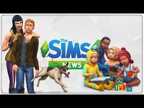 Tier Hinweise, Kleinkinder & Infos zu den Vampiren | Bastis Sims 4 News #52