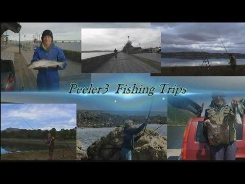 Fishing riverside drive  rail bridge Dundee 15 03 2016
