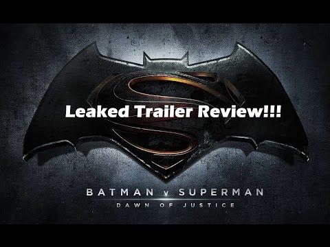 Batman v Superman: Dawn of Justice- Teaser Trailer Review