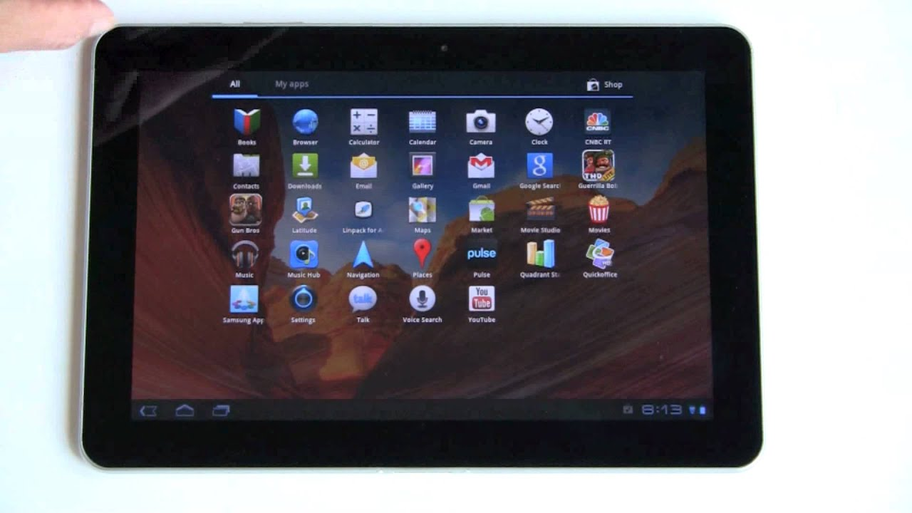 samsung galaxy tab 10 1 android tablet review   youtube
