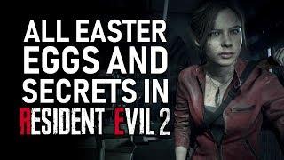 Resident Evil 2 Remake All Easter Eggs And Secrets