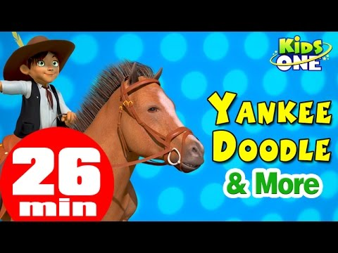 Yankee Doodle Went to Town & More Nursery Rhymes from KidsOne