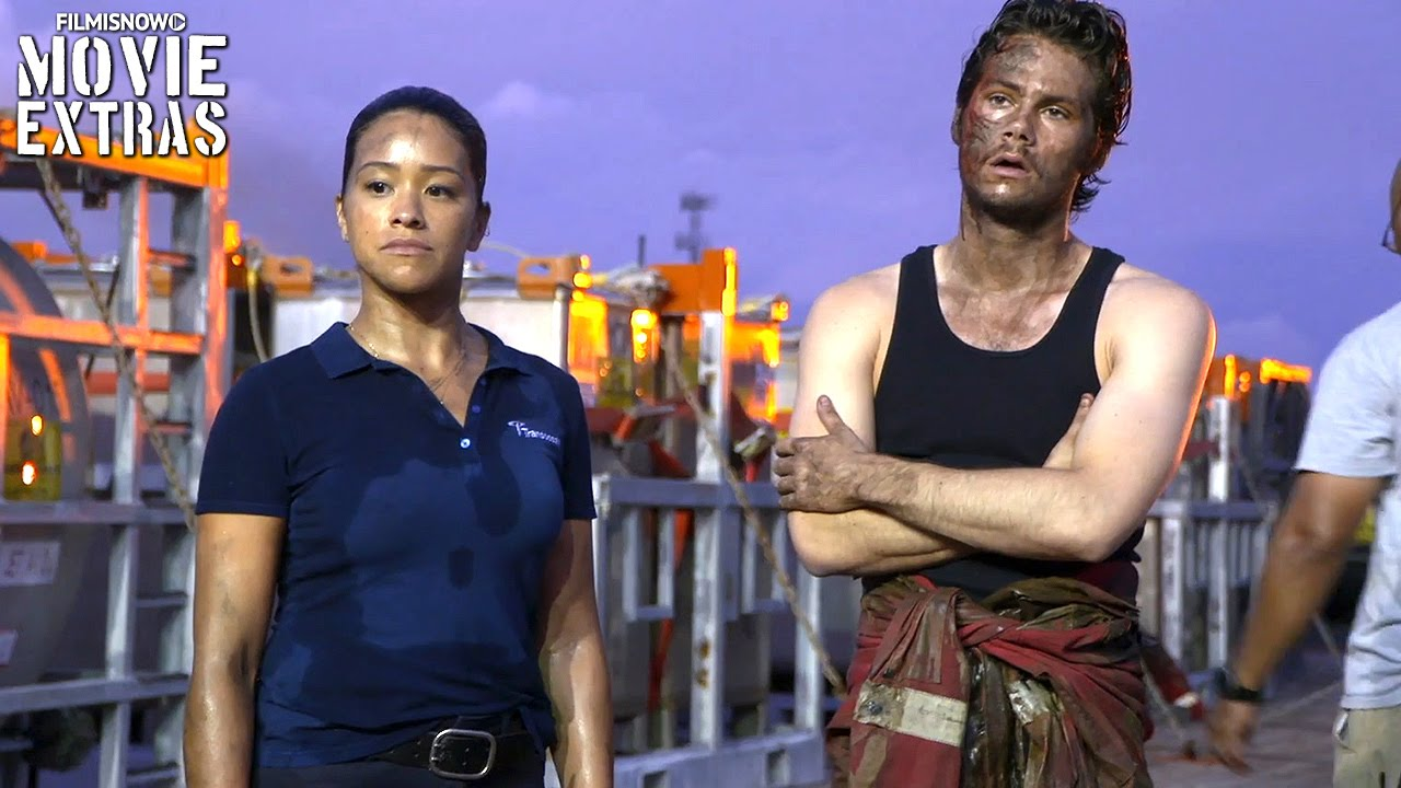 Deepwater Horizon 'Action / Gina Rodriguez and Dylan O'Brien' Featurette (2016)