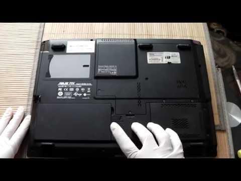 Jak Naprawić Komputer - Wymiana Baterii W Laptopie Asus F5V Odc 17