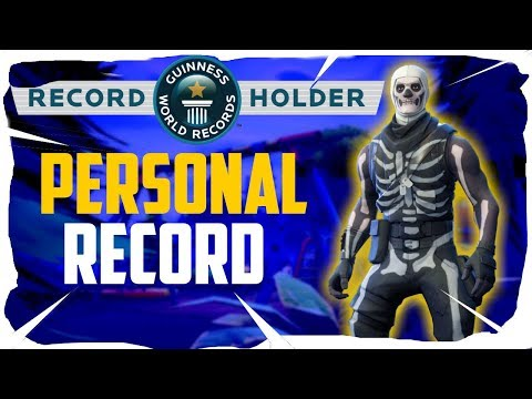 MOST KILLS IN A GAME! Personal Record Fortnite Battle Royale Gameplay (Full Game)